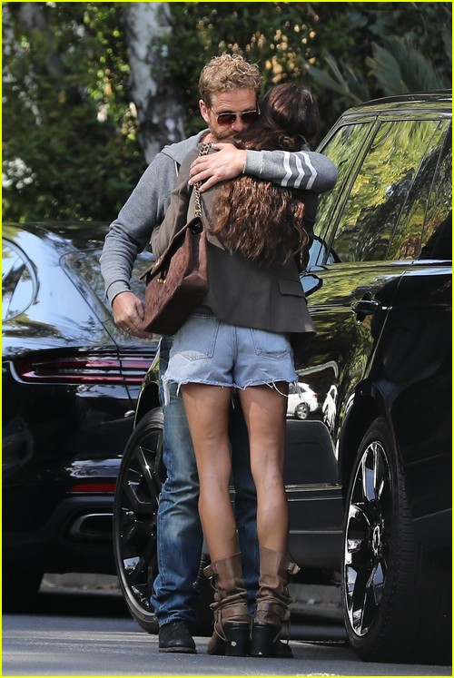 Gerard Butler and Morgan Brown PDA session