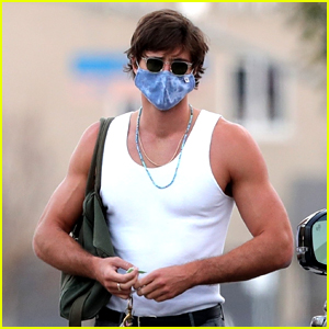 Jacob Elordi Shows Off Toned Muscles After a Workout