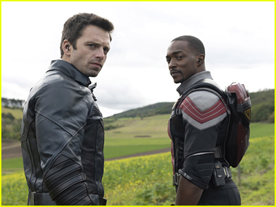 Sebastian Stan and Anthony Mackie in The Falcon and the Winter Soldier