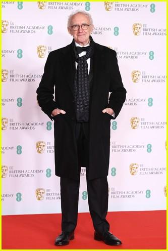 Jonathan Pryce 2021 BAFTAs red carpet