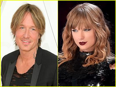 Keith Urban and Taylor Swift photos