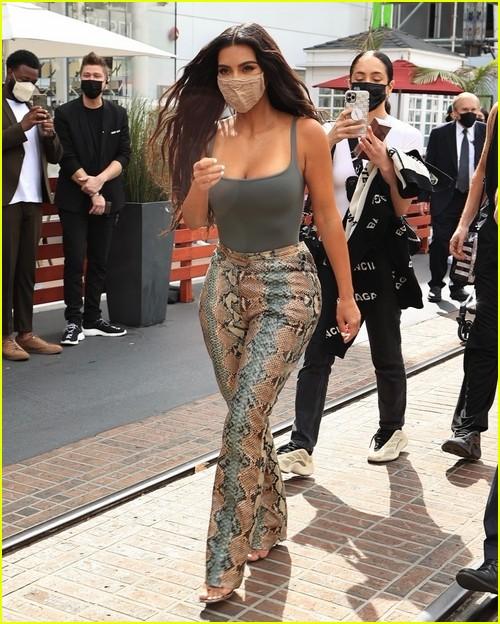 Kim Kardashian SKIMS event