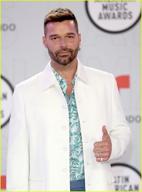 Ricky Martin at the Latin AMAs