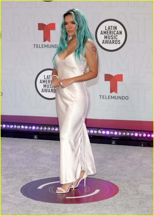 Karol G at the Latin AMAs