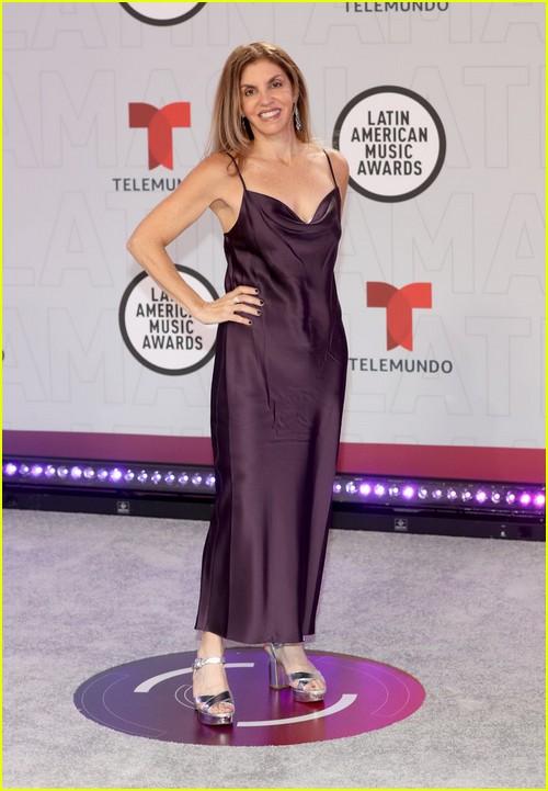 Leila Cobo at the Latin AMAs