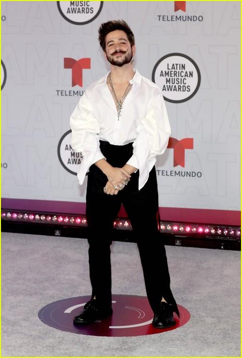 Camilo at the Latin AMAs
