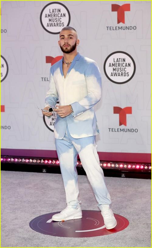 Manuel Turizo at the Latin AMAs