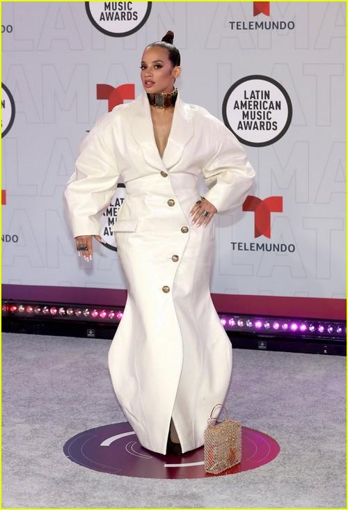 Dascha Polanco at the Latin AMAs