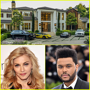 Madonna Buys The Weeknd's L.A. Mansion for $19.3 Million - Look Inside with These Photos!