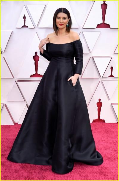 Laura Pausini at the Oscars