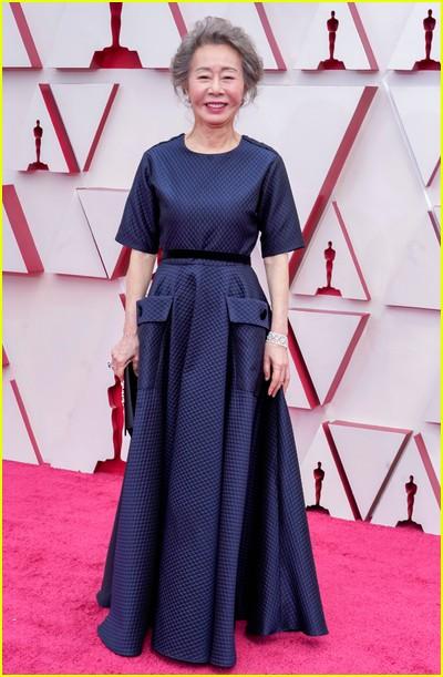 Youn Yuh-jung at the Oscars