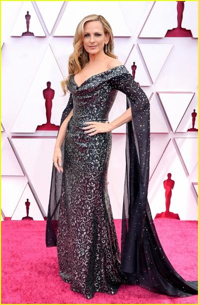 Marlee Matlin at the Oscars