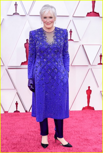 Glenn Close at the Oscars