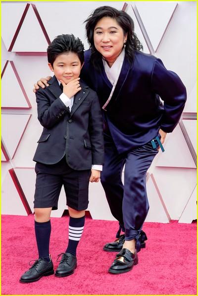 Alan S Kim at the Oscars