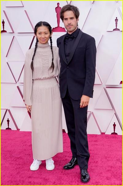 Chloe Zhao at the Oscars