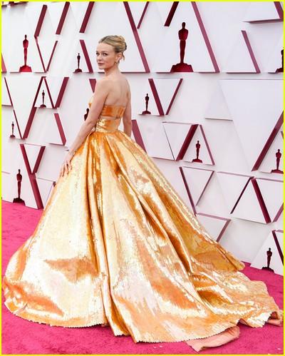 Carey Mulligan at the Oscars
