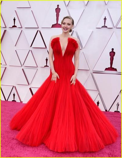 Amanda Seyfried at the Oscars