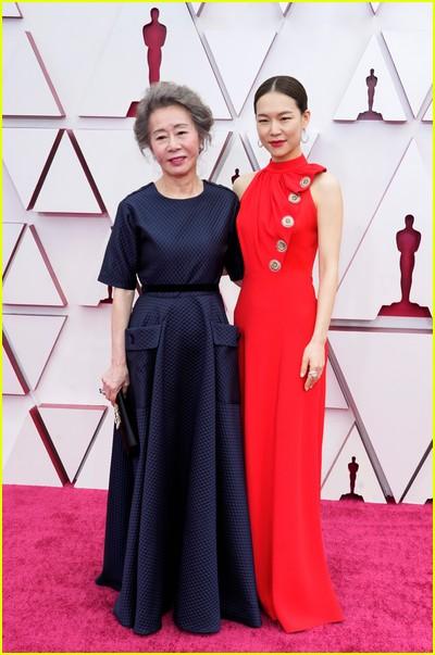 Yeri Han at the Oscars