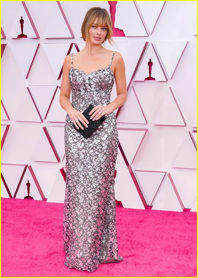 Margot Robbie at the Oscars