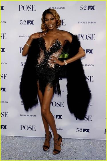 Dominique Jackson at the Pose season three premiere