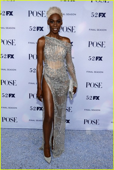 Angelica Ross at the Pose season three premiere