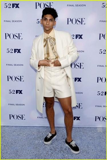 Angel Bismark Curiel at the Pose season three premiere