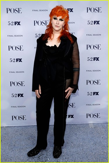Our Lady J at the Pose season three premiere