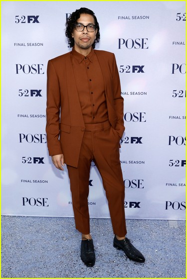 Steven Canals at the Pose season three premiere