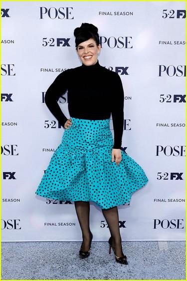 Alexis Martin Woodall at the Pose season three premiere