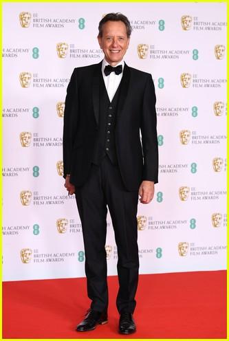 Richard E Grant 2021 BAFTAs red carpet