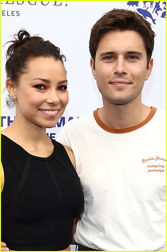 Ronen Rubenstein and Jessica Parker Kennedy photo