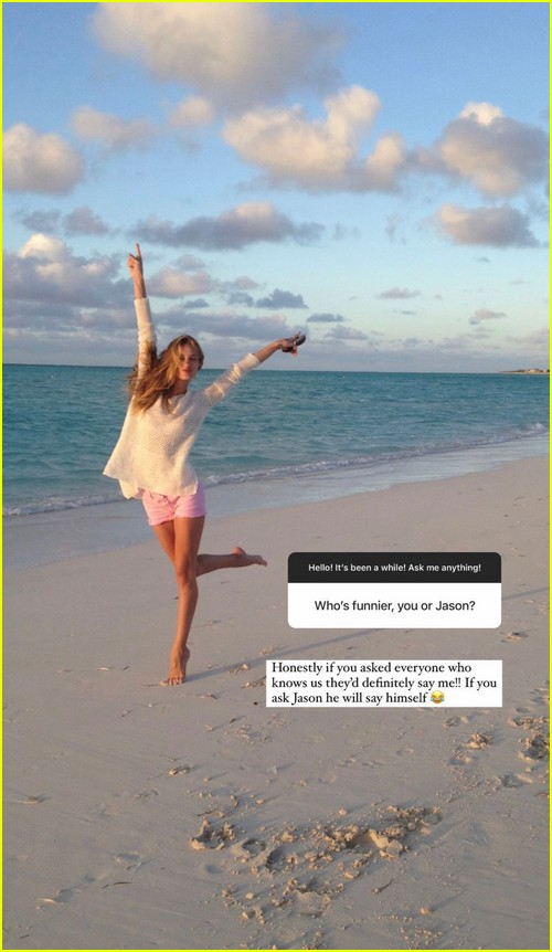 Rosie Huntington-Whiteley rare photos during Instagram Q and A