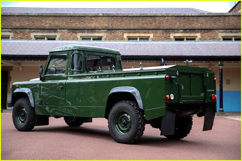 Prince Philip's Jaguar Land Rover hearse