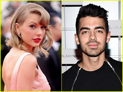 Taylor Swift and Joe Jonas file photos
