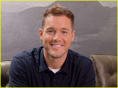 Colton Underwood sitting on a couch