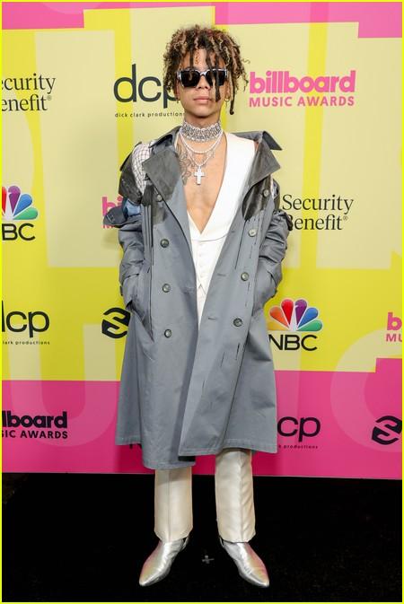 Iann Dior on the Billboard Music Awards 2021 red carpet