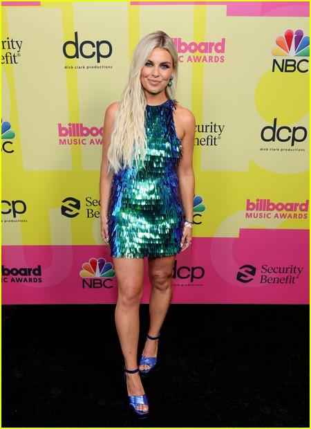 Tanya Rad on the Billboard Music Awards 2021 red carpet