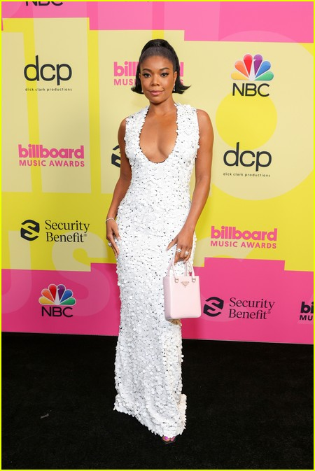 Gabrielle Union on the Billboard Music Awards 2021 red carpet