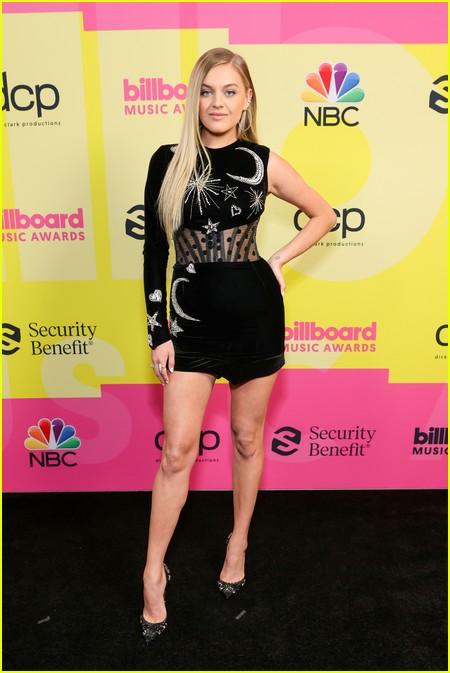 Kelsea Ballerini on the Billboard Music Awards 2021 red carpet