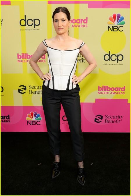 Kathryn Hahn on the Billboard Music Awards 2021 red carpet