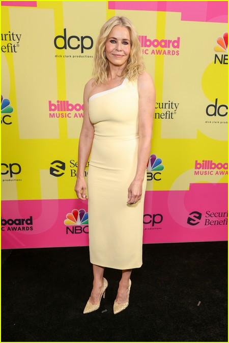 Chelsea Handler on the Billboard Music Awards 2021 red carpet