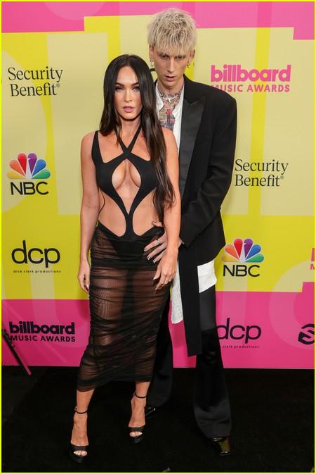 Megan Fox on the Billboard Music Awards 2021 red carpet