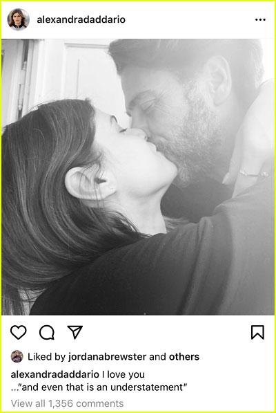 Alexandra Daddario instagram photo