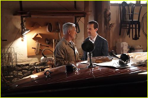 NCIS Mark Harmon and Sean Murray