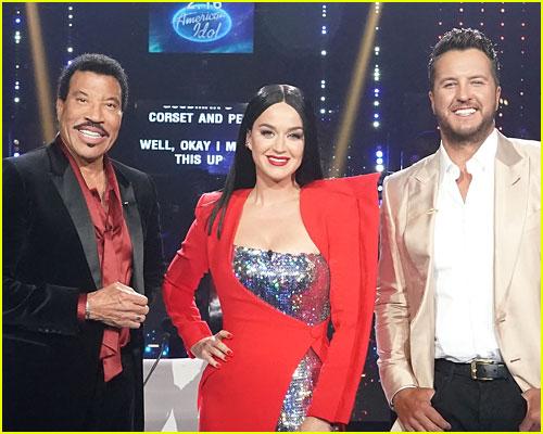 American Idol judges at the season finale