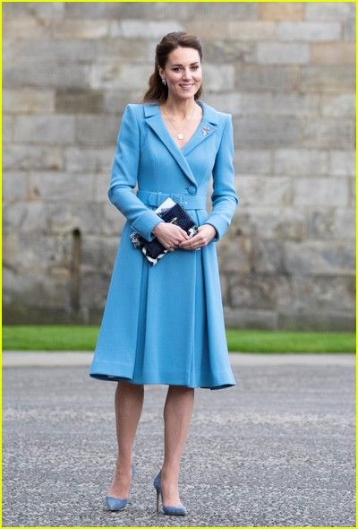 Kate Middleton wears four outfits on one day in Scotland