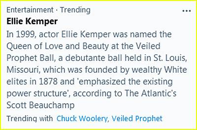 Ellie Kemper trending topic on Twitter