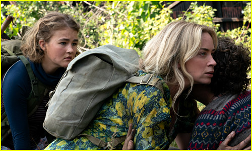 Millicent Simmonds and Emily Blunt in A Quiet Place 2