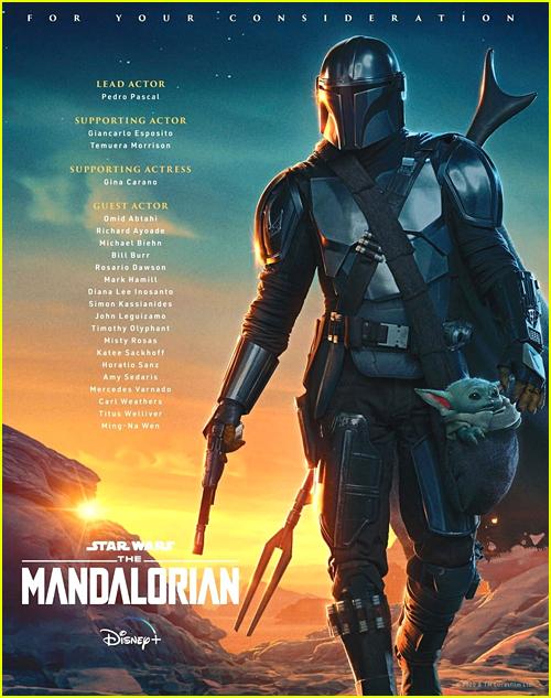 The Mandalorian FYC Emmy Poster