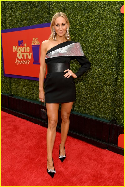 Nikki Glaser on red carpet at the MTV Movie and TV Awards Unscripted